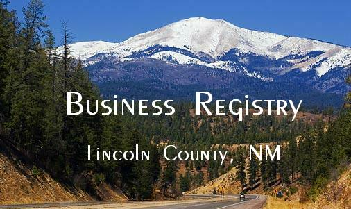 Business Registry of                 Lincoln County NM 2020